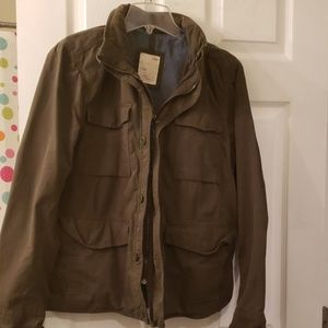 Gap military green jacket